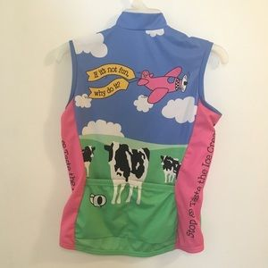 Pearl Izumi Jackets   Coats - Pearl Izumi Ben   Jerry s Cycling Jersey Vest 9dfb6cf96